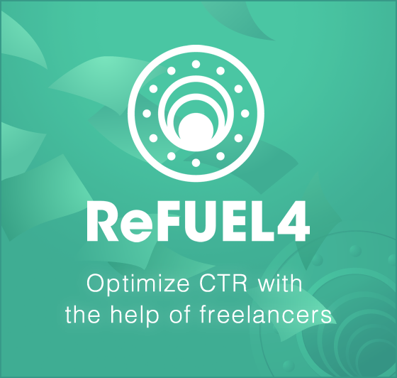 ReFUEL4 Optimeize CTR with the help of freelancers